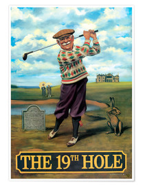 Premiumposter  The 19th Hole - Peter Green's Pub Signs Collection
