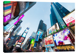 Canvastavla  Times Square - most popular spot in New York