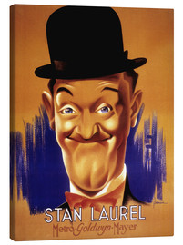 Canvastavla  Stan Laurel