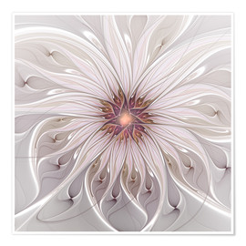 Premiumposter Floral Fantasy, Abstract Fractal Art