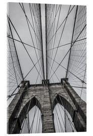 Akrylglastavla  Brooklyn Bridge i New York