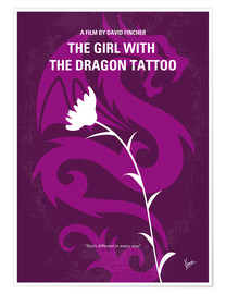 Premiumposter The Girl With The Dragon Tattoo