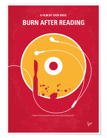 Premiumposter Burn After Reading