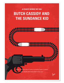 Premiumposter Butch Cassidy And The Sundance Kid