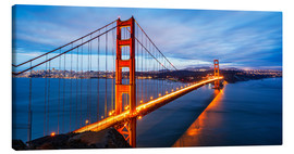 Canvastavla  Golden Gate Bridge i San Francisco