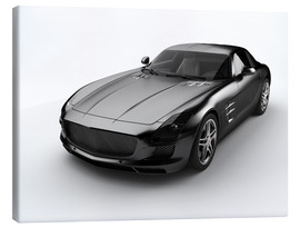 Canvastavla  black Roadster