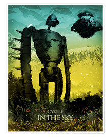 Premiumposter Castle in the Sky (Laputa – slottet i himlen)