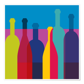 Premiumposter  Wine bottles