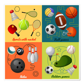 Premiumposter  Do some sports - Kidz Collection