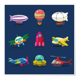 Premiumposter  From the skies - Kidz Collection