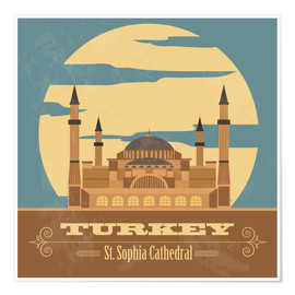 Premiumposter  Turkey - Hagia Sophia