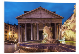 PVC-tavla  Pantheon at twilight, Rome, Italy - Circumnavigation