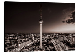 Aluminiumtavla  Berlin TV Tower - Sören Bartosch