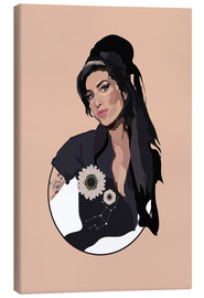 Canvastavla  Amy Winehouse - Anna McKay