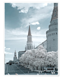 Premiumposter  Kremlin towers