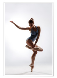 Premiumposter  beautiful ballet dancer