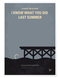 Premiumposter I Know What You Did Last Summer