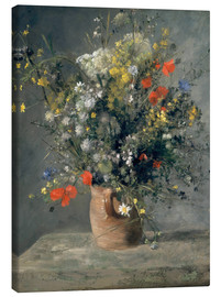 Canvastavla  Flowers in a Vase - Pierre-Auguste Renoir