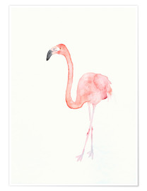 Premiumposter  Flamingo - Dearpumpernickel