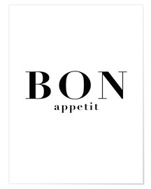 Poster  Bon Appetit - Finlay and Noa