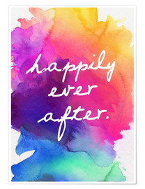 Premium poster  Happily Ever After - Happy to the end of life - Finlay and Noa