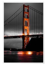 Premiumposter Golden Gate