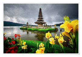 Poster Bali Temple
