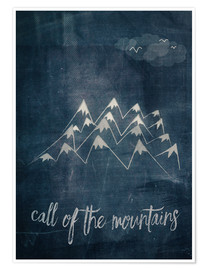 Premiumposter  call of the mountains - Sybille Sterk