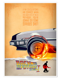 Poster  Back to the Future - HDMI2K