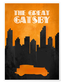 Premiumposter The Great Gatsby - Minimal Movie Film Fanart Alternative