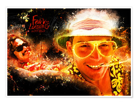 Premiumposter  Fear and Loathing in Las Vegas - Movie Film Alternative - HDMI2K
