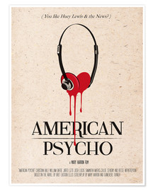 Poster  American Psycho - 2ToastDesign