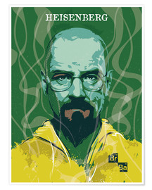 Premiumposter Heisenberg, Breaking Bad