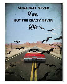 Premiumposter Fear and Loathing Las Vegas