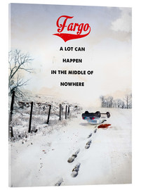 Akrylglastavla  Fargo (English) - 2ToastDesign