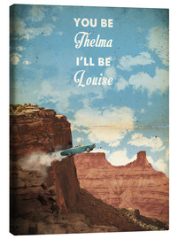 Canvastavla  Thelma & Louise - 2ToastDesign