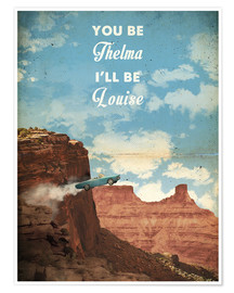 Premiumposter  Thelma & Louise - 2ToastDesign