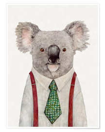 Premiumposter  Koala in a tie - Animal Crew