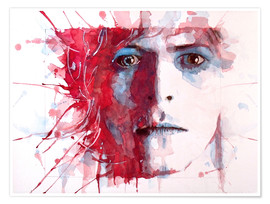 Poster  The prettiest star : David Bowie - Paul Lovering Arts