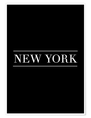 Poster NEW YORK | HORIZONTAL