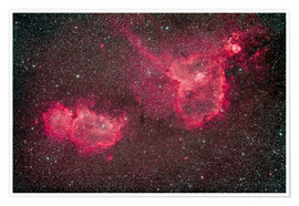 Premiumposter The Heart and Soul Nebula