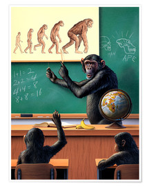 Premiumposter  Evolution - Jerry LoFaro