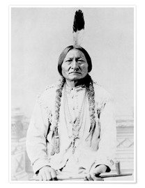 Poster  Sioux Chief, Sitting Bull