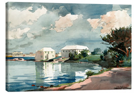 Canvastavla  Salt Kettle, Bermuda - Winslow Homer