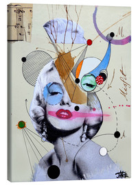 Canvastavla  Marilyn for the abstract thinker - Loui Jover