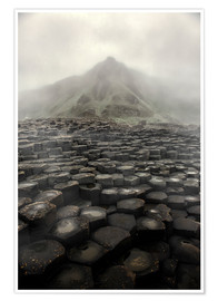 Premiumposter Giant's Causeway at dawn