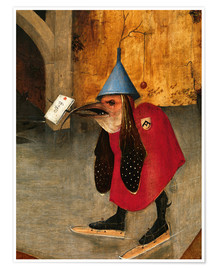 Premiumposter  Saint Anthony is accused of devils (Detail) - Hieronymus Bosch