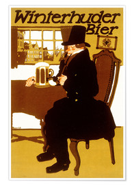 Premiumposter  Winterhuder beer - Paul Scheurich
