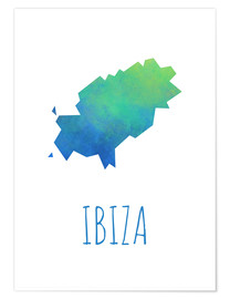 Premiumposter  Ibiza - Stephanie Wittenburg