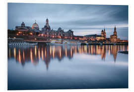 PVC-tavla  Dresden old town at the blue hour - Philipp Dase